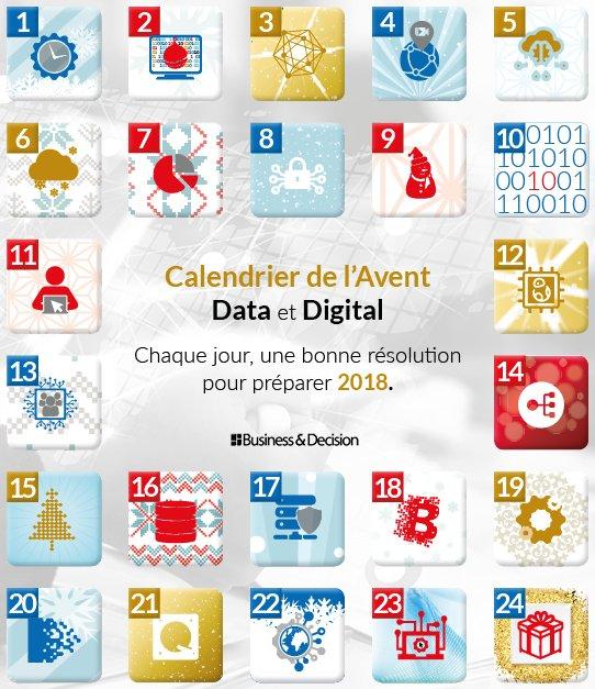 Calendrier Digital.Business Decision On Twitter Calendrier De L Avent 24