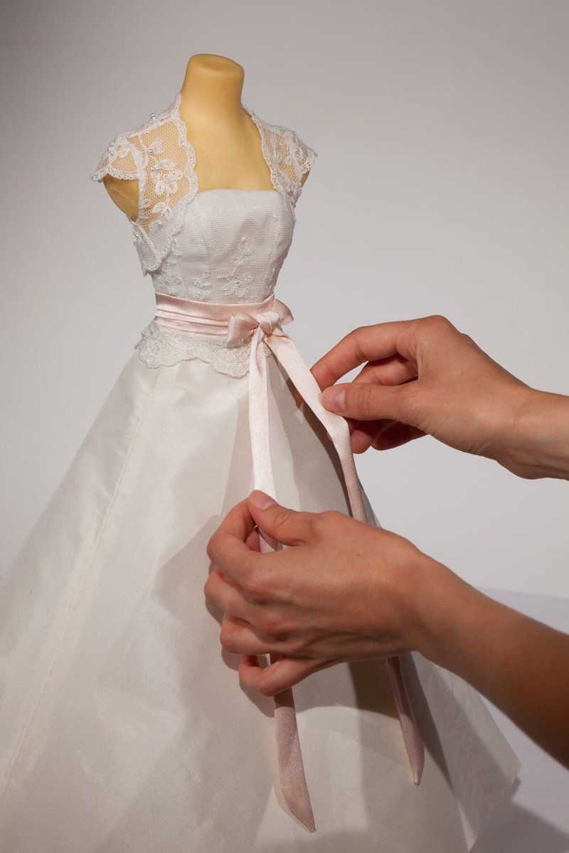 Bewaren van trouwjurk