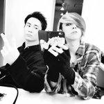 今日も撮影。いろいろ。OLDCODEXなオレたち。バックヤードより。明日は神戸、楽しみだよ!#LOV…