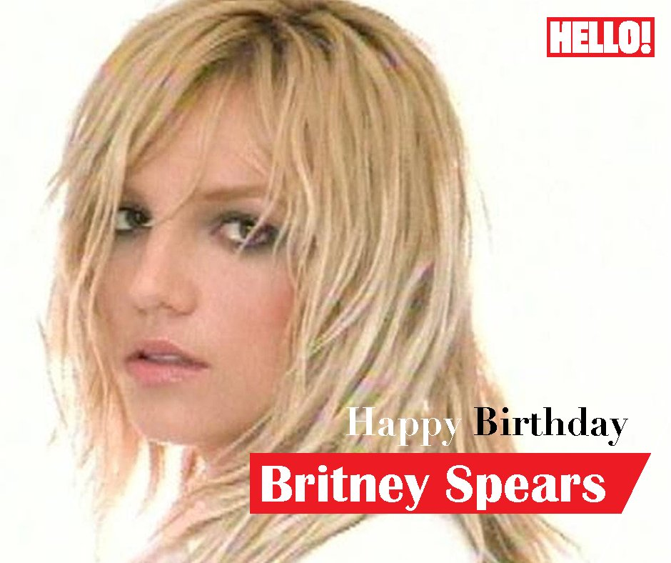 HELLO! wishes Britney Spears a very Happy Birthday
