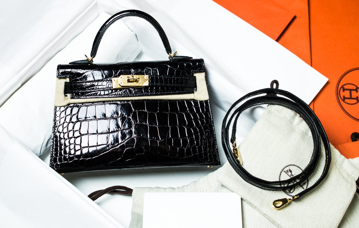 43327da517a ... aliexpress hardware available for sale priveselective product page  limited edition hermes 20cm kelly black alligator mini
