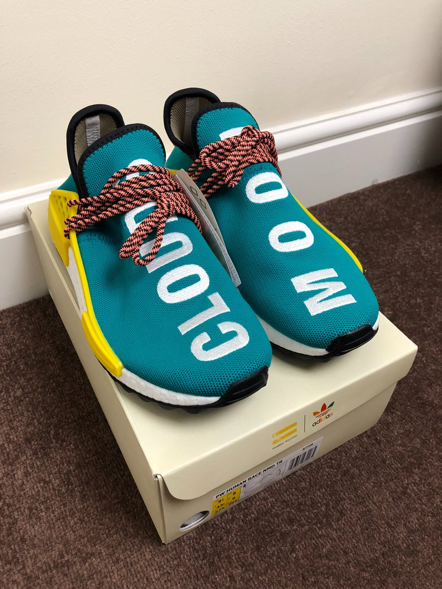 e10f006306b4b ... x  Pharrell HU NMD Trail in the sunglow colourway in a UK9 size for  £315!  adidasoriginals  NMD  Pharrell  sneakers   ForSalepic.twitter.com 6T6zzYVnX9