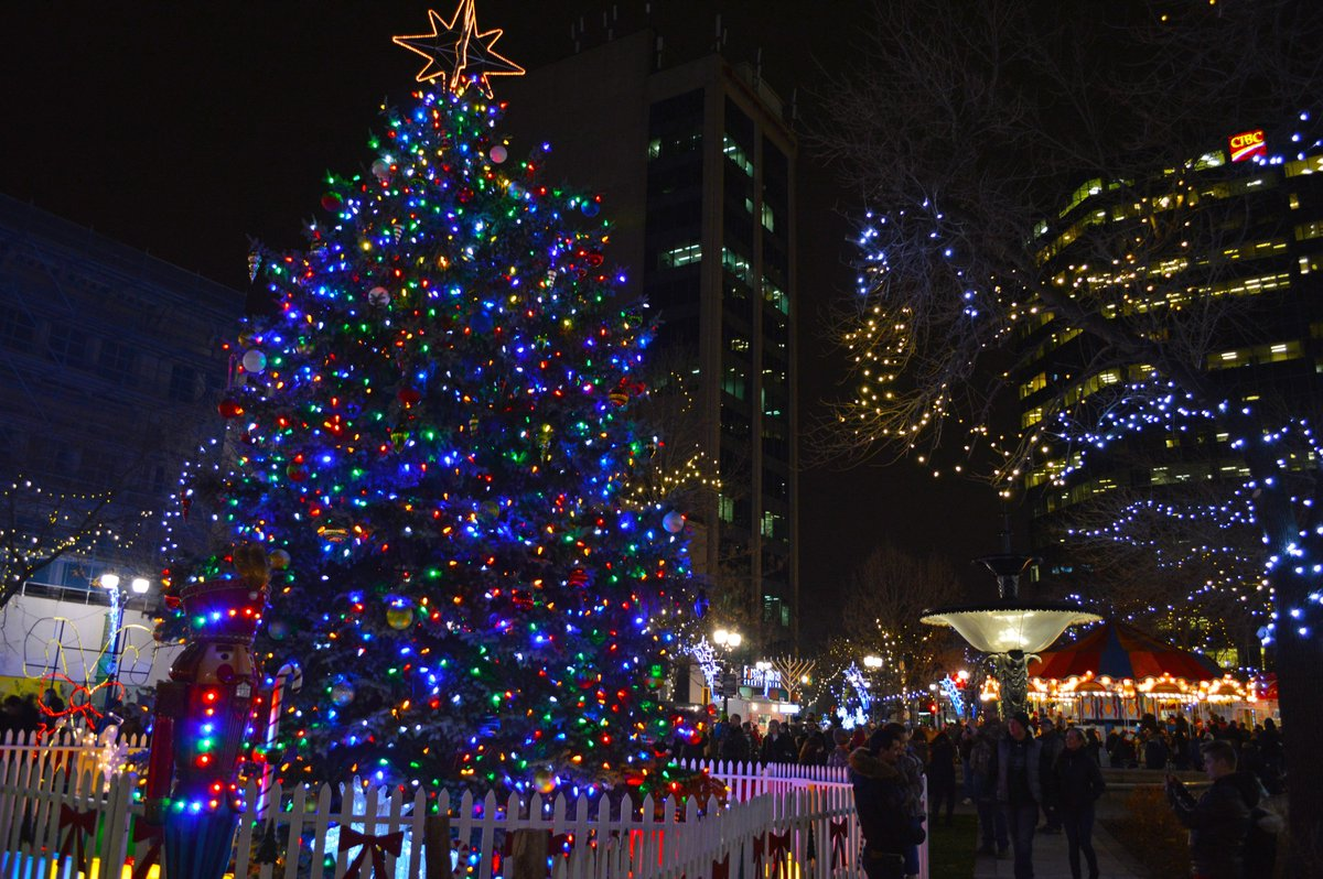 Tonight We Re Lighting Up The Gore Park Christmas Tree Of Hope With A Free Family Friendly Event Beginning At 5pm Details Http Bit Ly 2j2cwwx Hamont