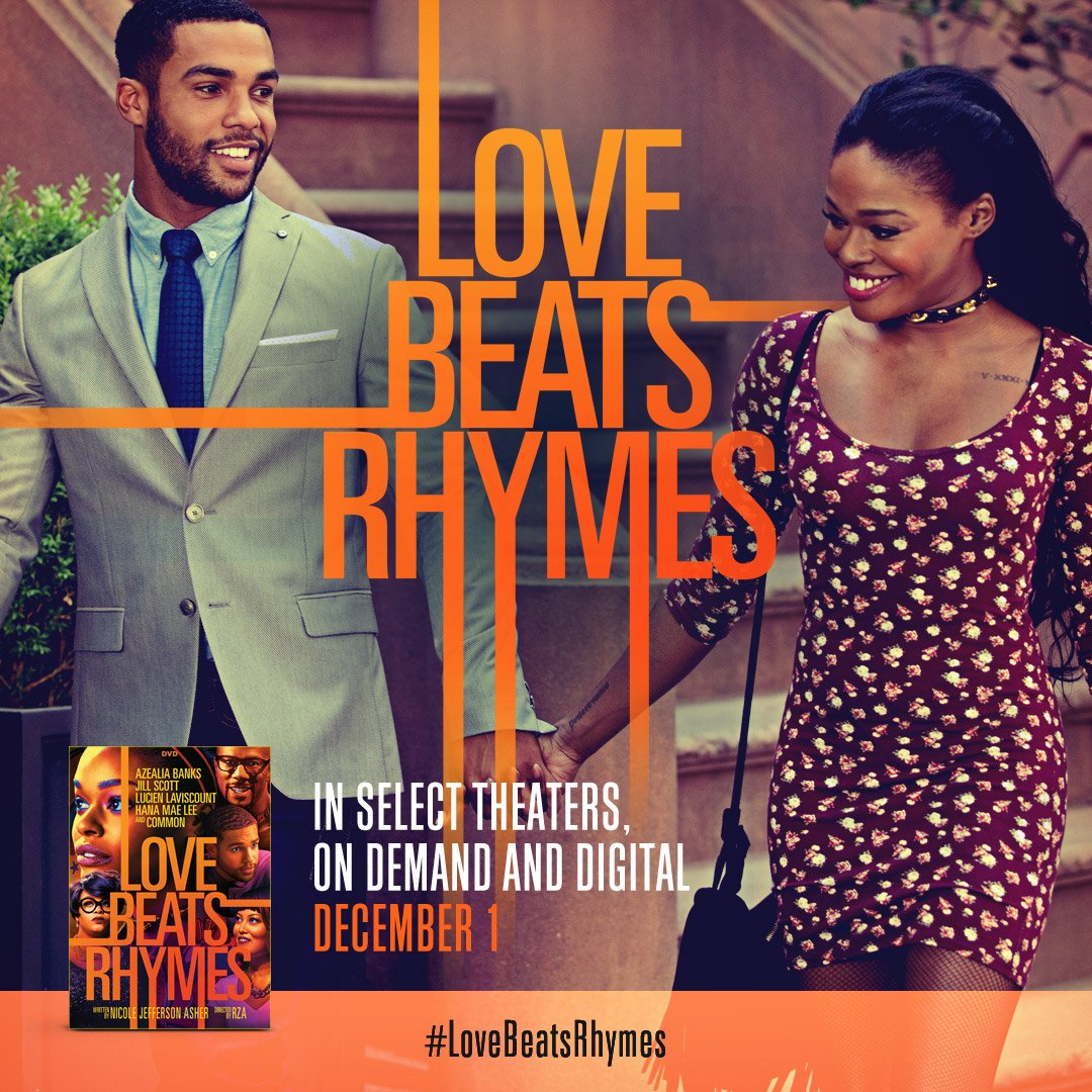 Make sure you don't' miss the feature film #LoveBeatsRhymes starring @ItsLucien. Out TODAY!