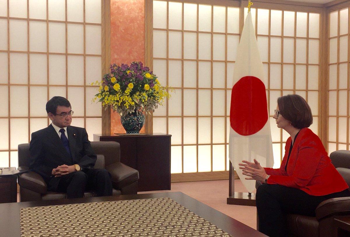 """オーストラリア大使館 Australia in Japan on Twitter: """"ジュリア ..."""