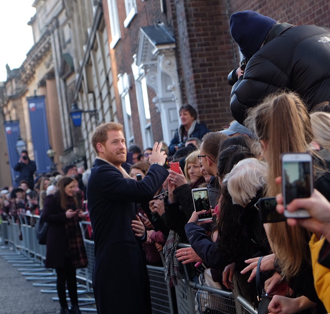The world is on fire, but at least Harry and Meghan are loved-up in their first public engagement