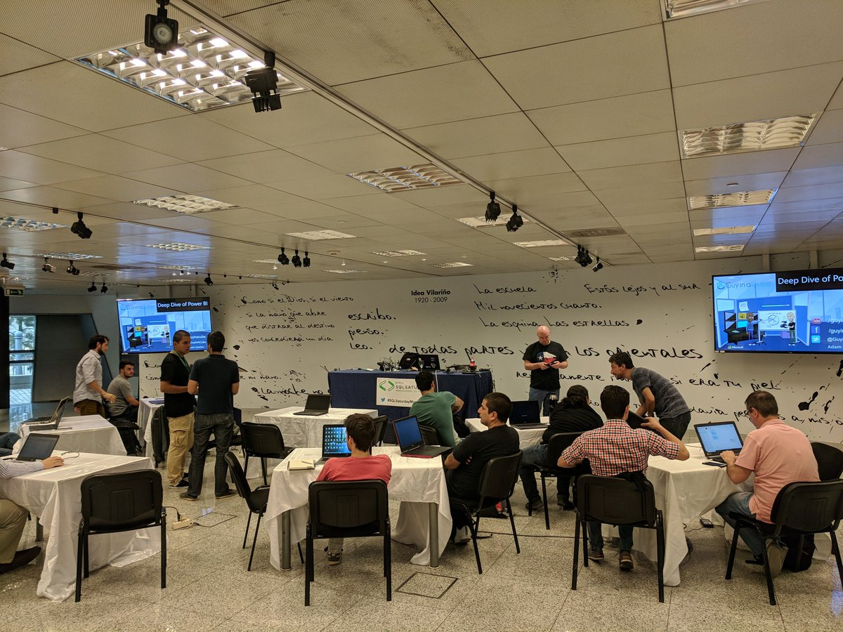 Adam Saxton en workshop