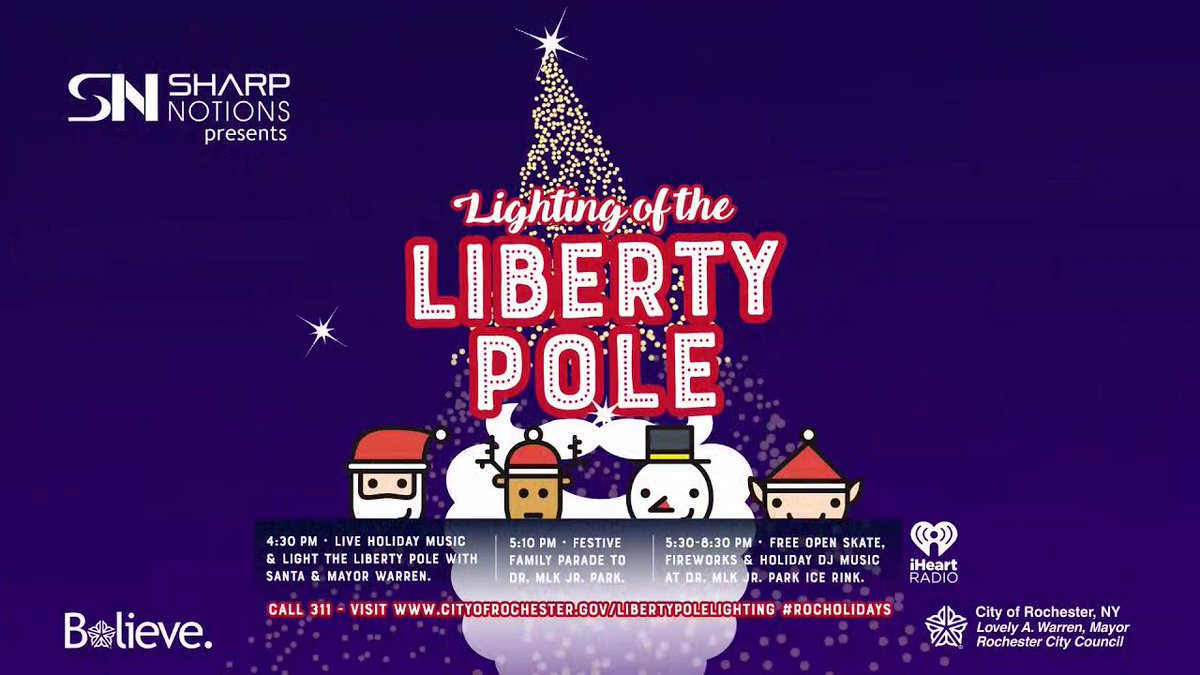 Servpro Of Nw Monroe County On Twitter The Liberty Pole Lighting
