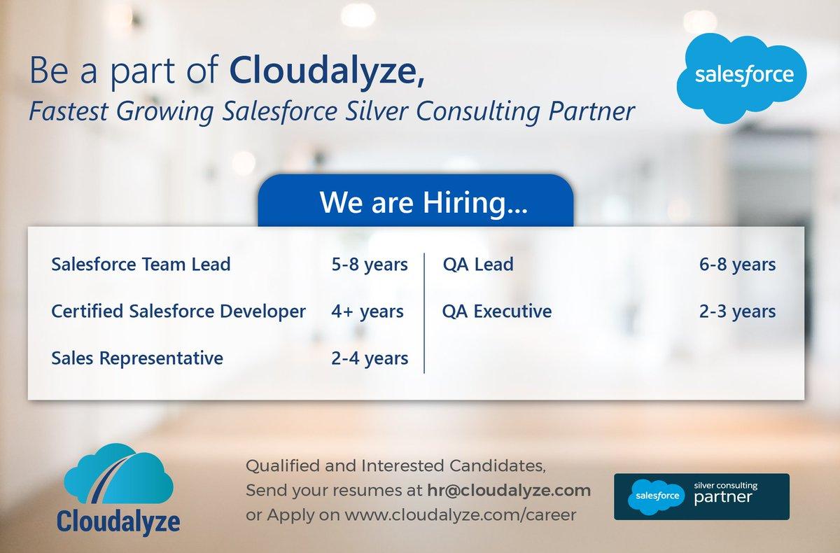 cloudalyze on twitter wearehiring great career opportunity