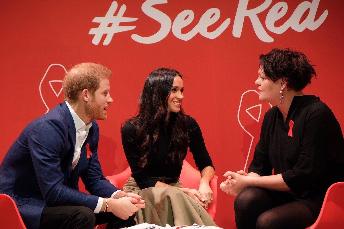 Визит принца Гарри и Меган Маркл в Ноттингем