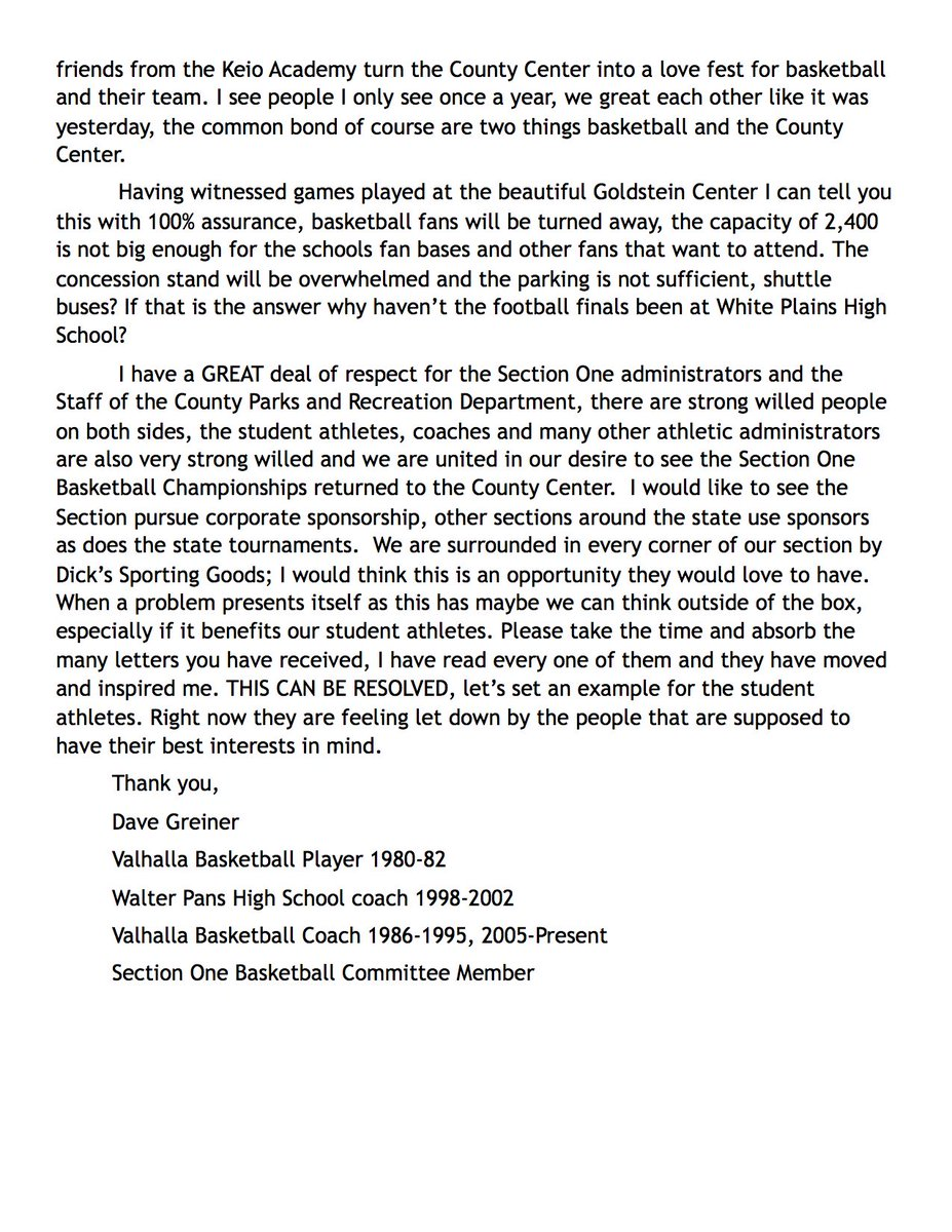 Lhbca on twitter here is a letter from section one boys basketball lhbca on twitter here is a letter from section one boys basketball committee member and long time coach coachdlg515 sharing his sadness for hundred of expocarfo Image collections