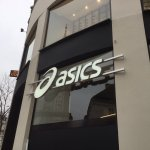 Completed install for the new #Vienna store for #ASICS  Opening today! #Newstore #Advertising #FridayFeeling #installation