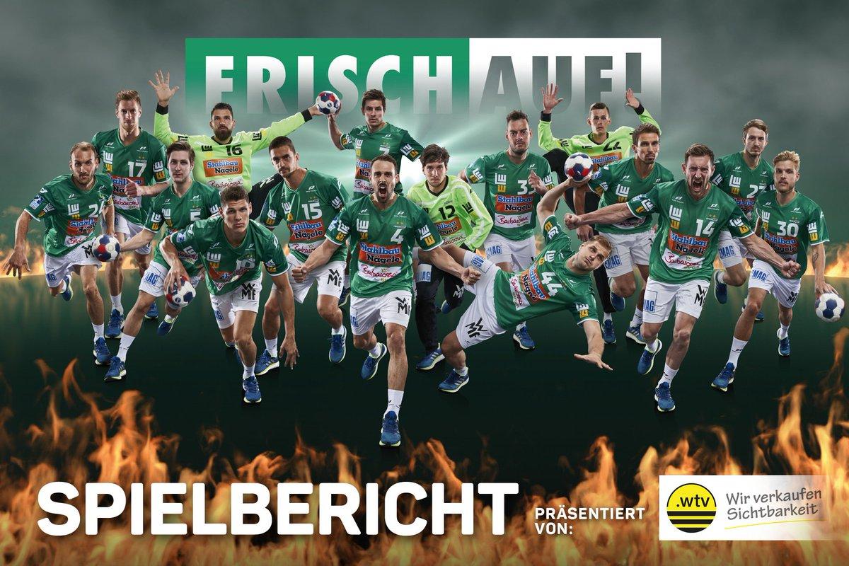 Hier der Spielbericht zur 33:28 Niederlage in Leipzig: https://t.co/uocWQV2r2N #WirsindFRISCHAUF #eslebedersport https://t.co/M9v42quzDU