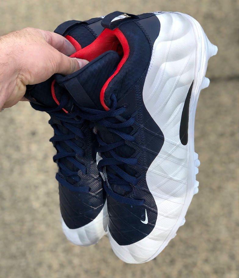 super popular ae531 3a1b4 Olympic Nike Foamposite : Olympic Nike Foamposite cleats ...