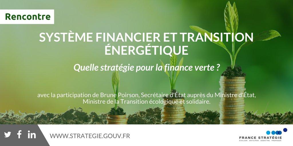 Le système financier peut-il avoir un rôle dans la #TransitionÉnergétique ? C'est ce qu'on appelle la #FinanceVerte 👉 https://t.co/wqC0snoGWI