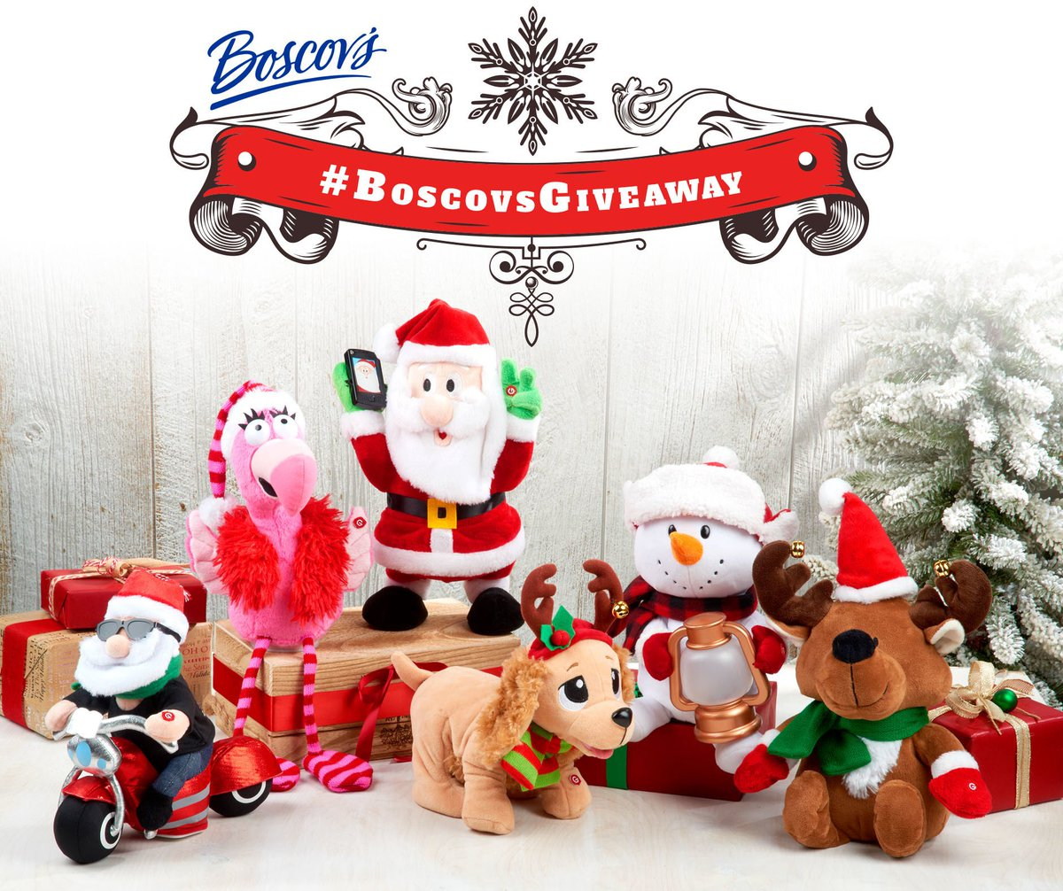 boscovs on twitter boscovsgiveaway is back rt this post with boscovsgiveaway and your favorite holiday emoji for a chance to win a musical christmas