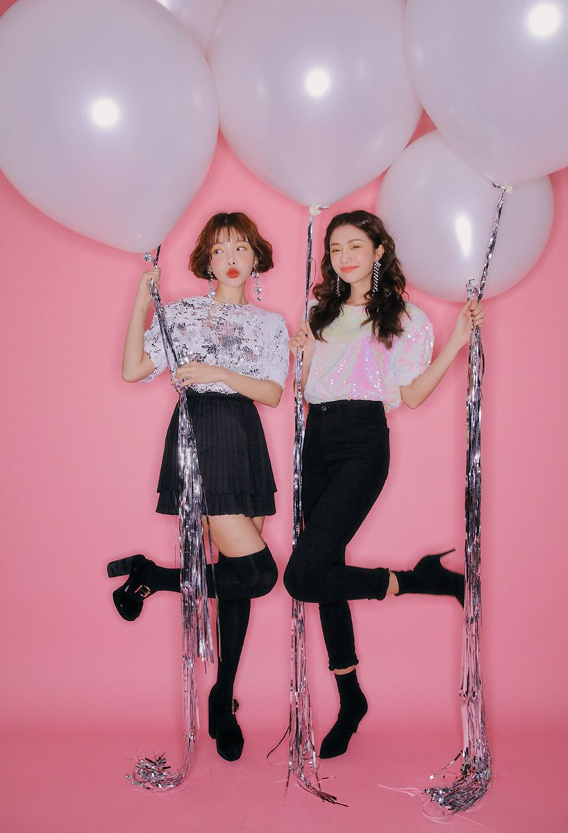With Gong Soo Ah for new clothes from #STYLENANDA  <br>http://pic.twitter.com/NXcPQgj7Vu