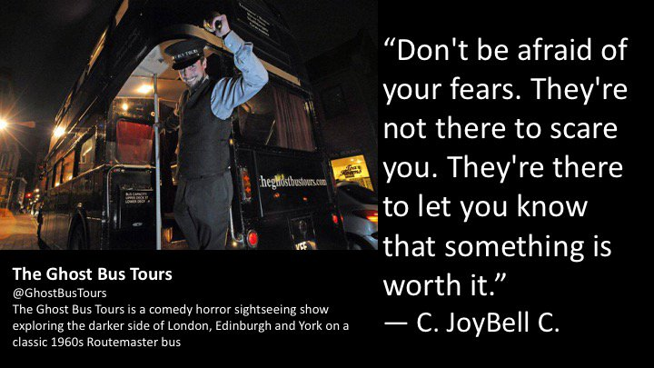 Time to face your fears with @CJoyBell    @Londonist #fears #tour #booking #horror #London #York #Edinburgh  http://www. theghostbustours.com  &nbsp;    #July<br>http://pic.twitter.com/mPoN6ohDf9