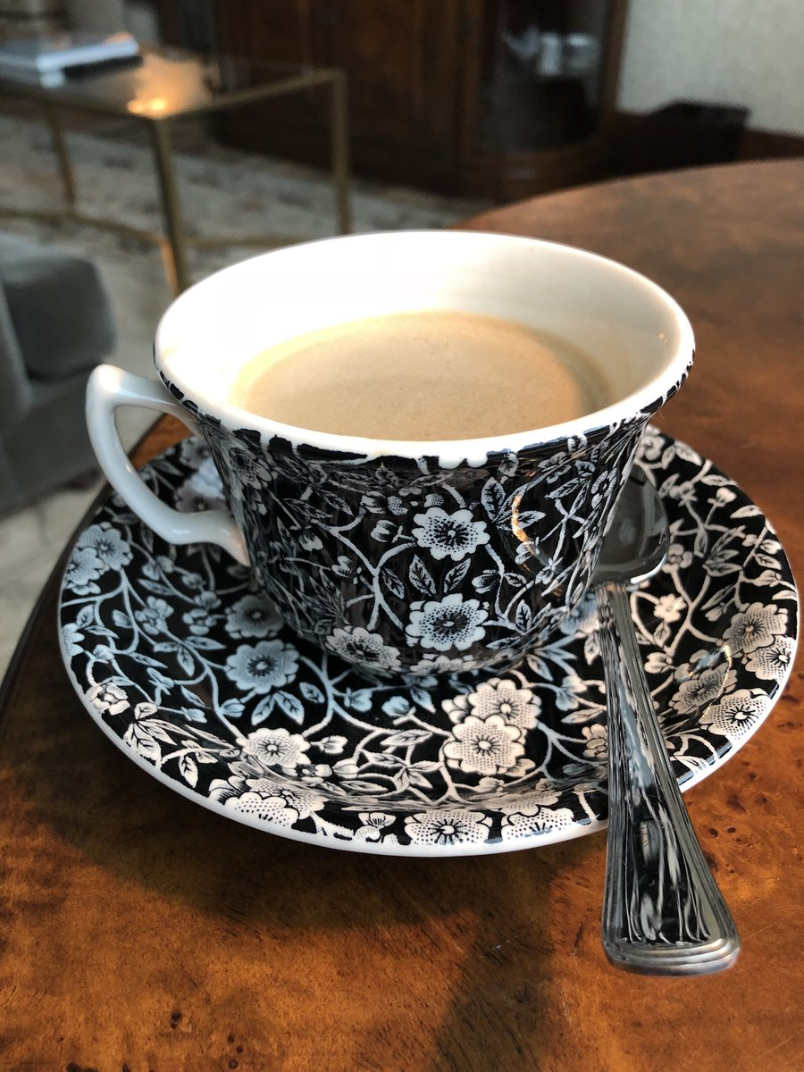 Details like dish-ware little this in a hotel bring me so much joy. Happy Sunday. #Coffee #holidays #home <br>http://pic.twitter.com/GfMQmo5h4B