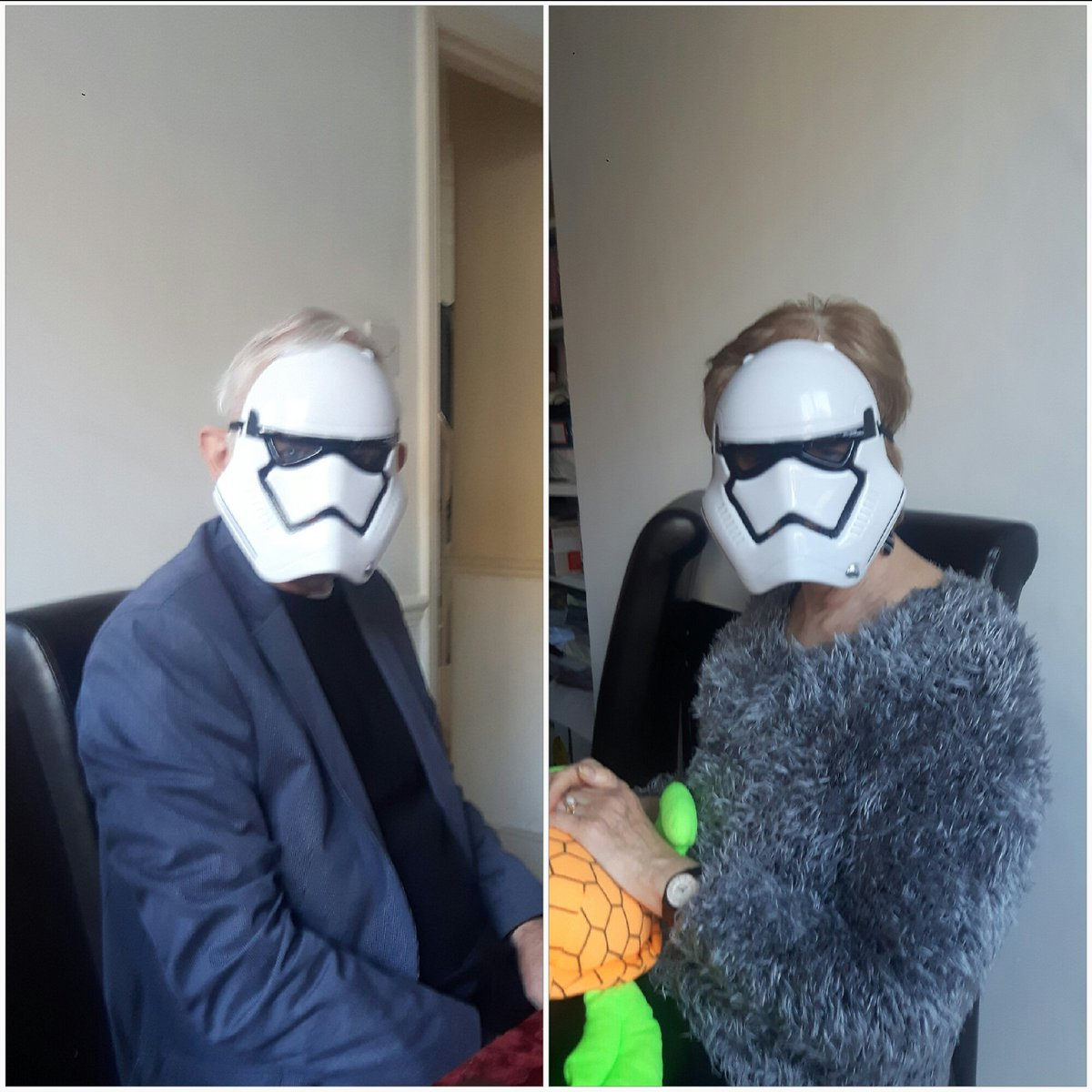 The force is strong in my parents... #StarWars #stormtrooper <br>http://pic.twitter.com/LR8wQNkvzX