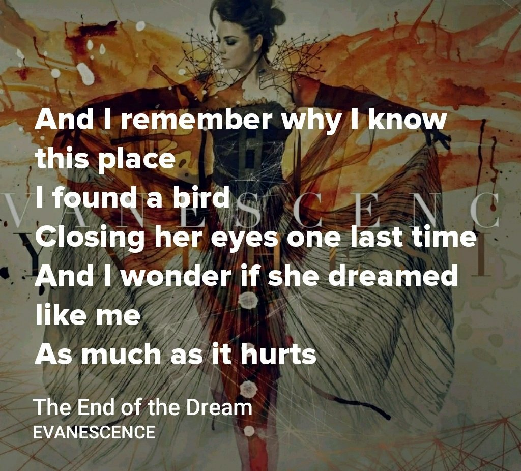 RT @syeddoha: Long awaited album by @evanescence  is just #soulclenching. Congrats! https://t.co/K6u5u2AtvG