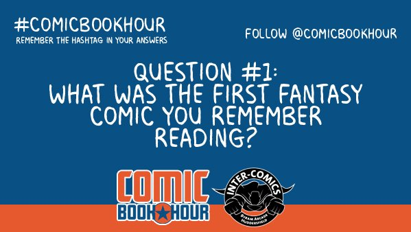 comicbookhour on twitter q1 what was the first fantasy comic