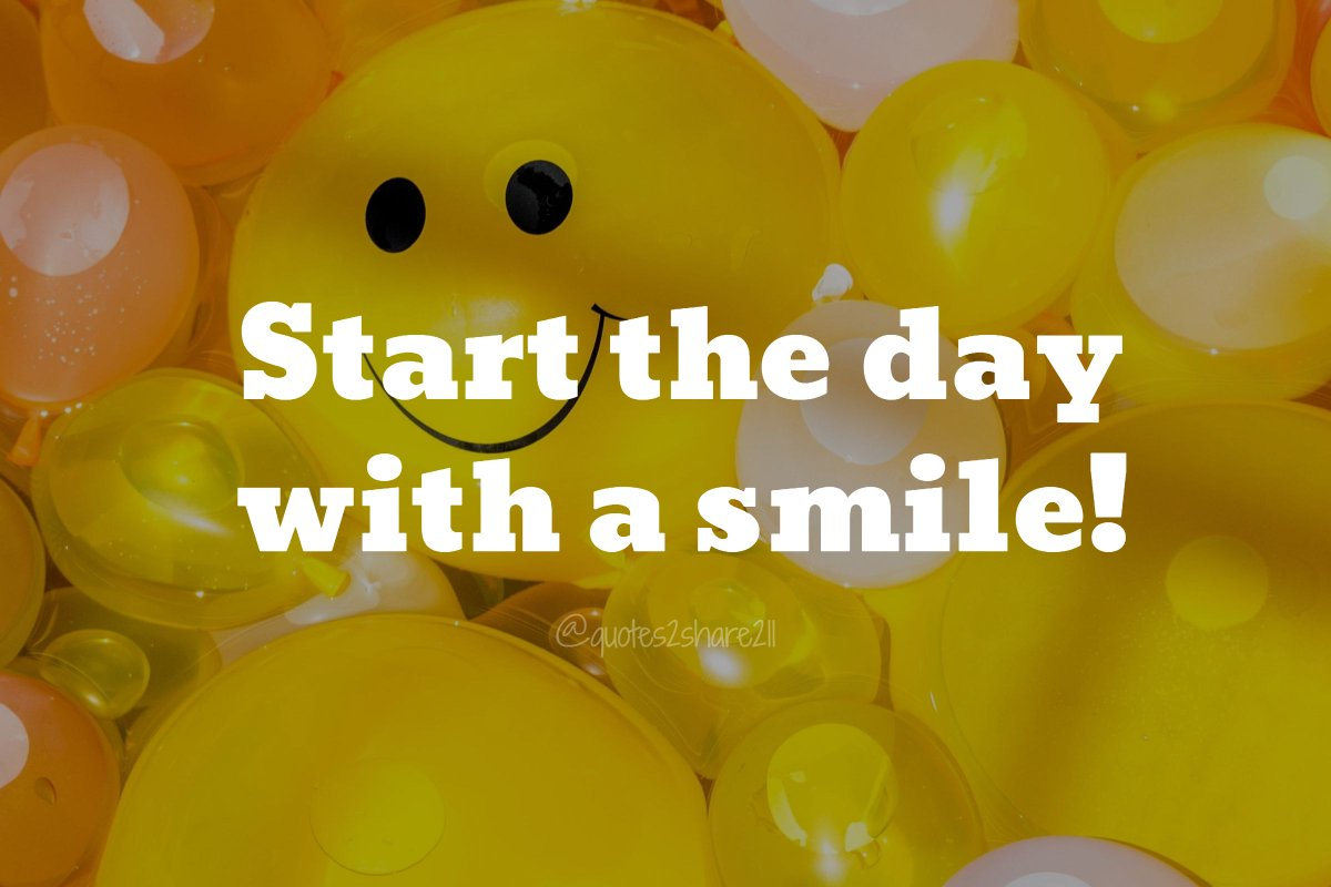 Start the day with a #smile! #sundayfunday<br>http://pic.twitter.com/2Cy8bfS9Cc