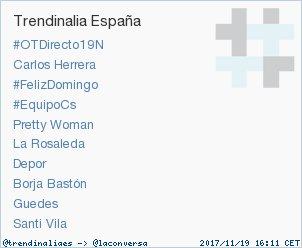 'Pretty Woman' acaba de convertirse en TT ocupando la 5ª posición en España. Más en https://t.co/K5DFqqcseW https://t.co/zIWwFbLnq5