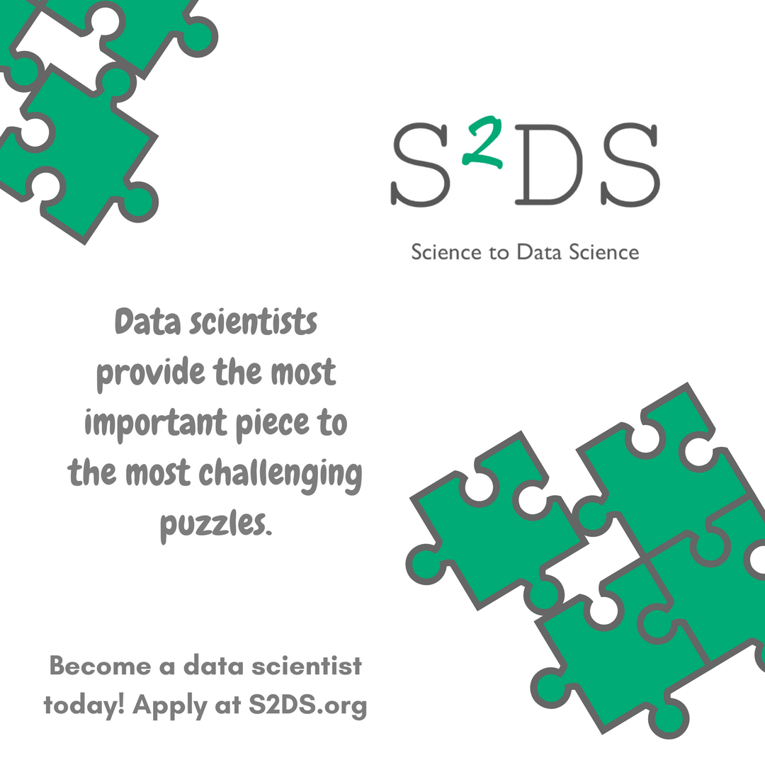 Start your journey from academia to industry today! Work on a real-life data science project and gain the experience needed to become a data scientist. Apply today at  http:// S2DS.org  &nbsp;   #datascience #iot #study #phdlife #phd #phdstudent #business #womenintech #ai<br>http://pic.twitter.com/xsR1PQtVtV