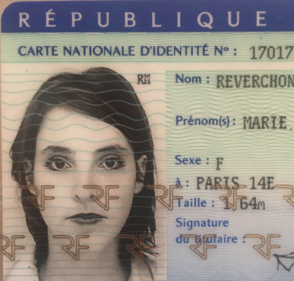 perdu carte d identité FVuillod14 on Twitter: