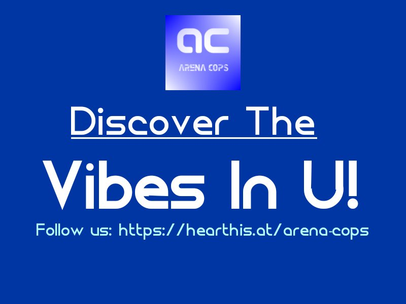 Don&#39;t lose your cool! Get the vibes! Follow us @  https:// hearthis.at/arena-cops  &nbsp;    2 #Groove! #EDMfamily #Freedom #Love #Dance #HouseMusic #Vibes #Fest #UnitedStatesOfVibes #Ppl #PWR #RT <br>http://pic.twitter.com/Wd9Z2PPPai