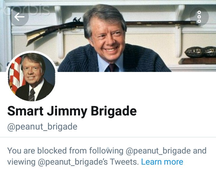 #JimmyCarter has left a total chaos in #Iran since 1979. Now his supporters insult and blame #Iranians for having such criminal #IslamicState in #Iran and #block dissidents on @Twitter  #Shame on you #JimmyCarter<br>http://pic.twitter.com/q3OyNsx1RF