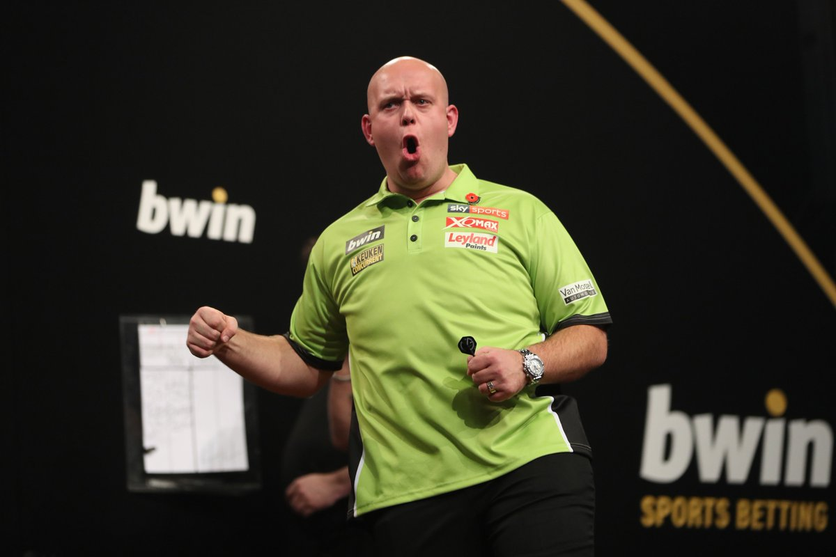 VAN GERWEN WINS!!!!!A 16-8 win over Phil Taylor and he is into the final to face Peter Wright. #LoveTheDarts