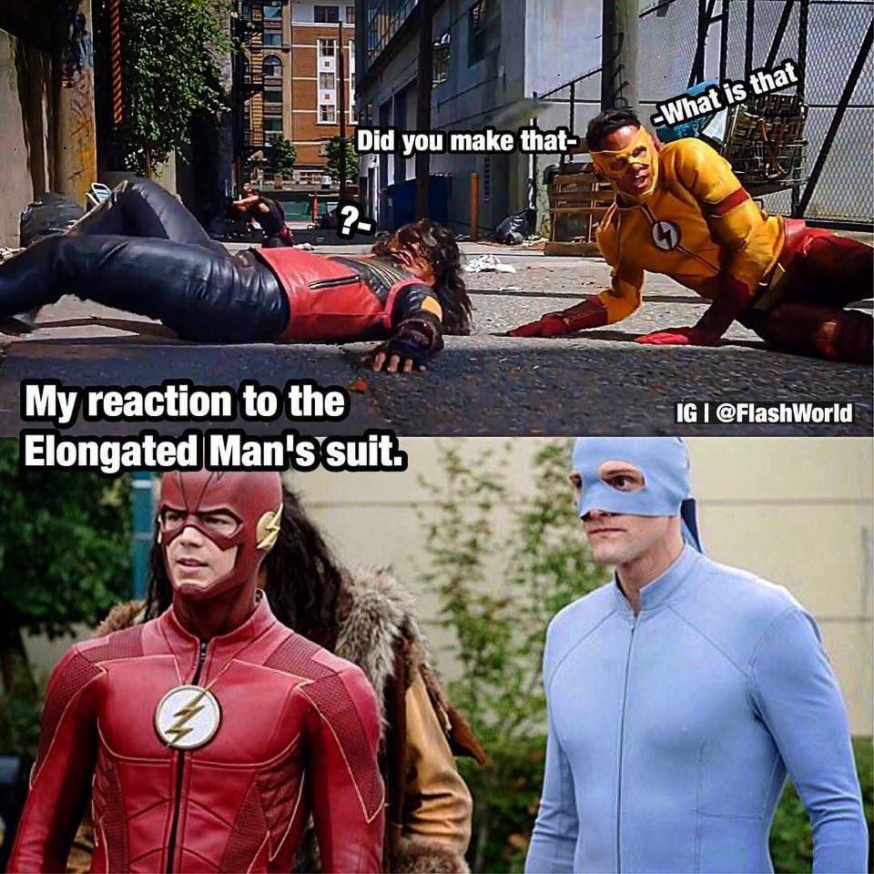 LMAO...Imagine if we seen a reaction like this from Wally!(IG) #TheFlash  #Vibe #KidFlash<br>http://pic.twitter.com/LSwMgrdYUT