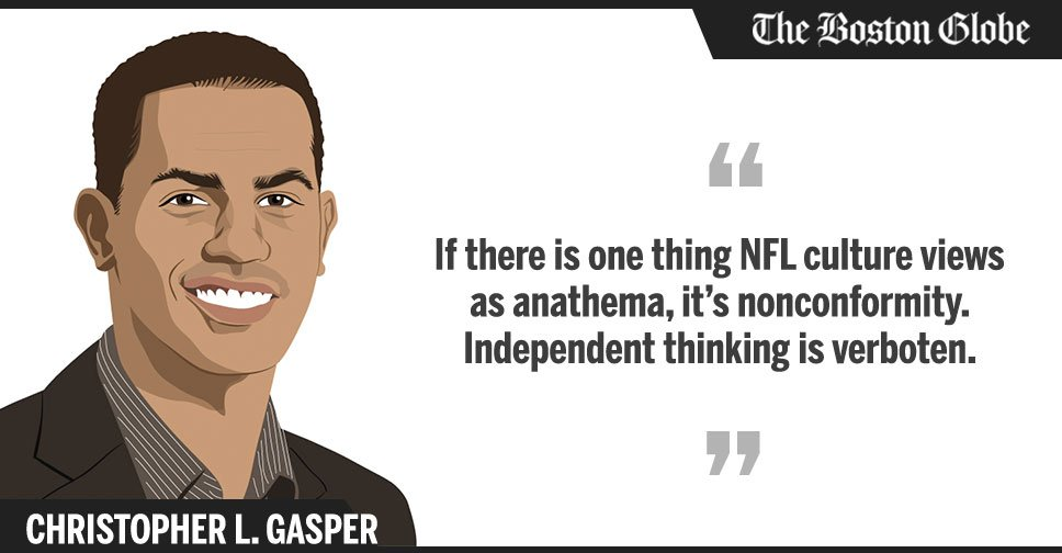 .@cgasper: Colin Kaepernick's absence is both conspicuous and suspicious. https://t.co/PrLq7zgCNz