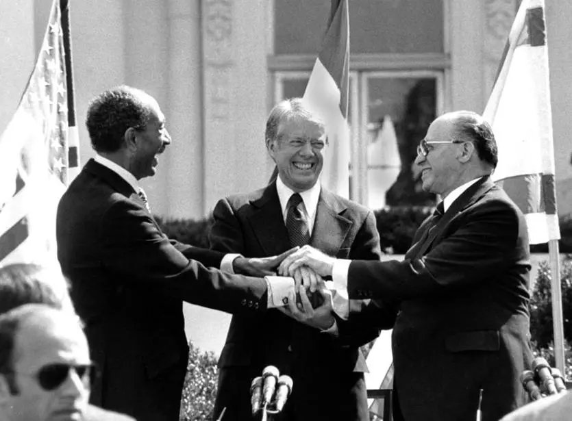 Forty years ago today, Anwar Sadat embarked on a groundbreaking visit to Jerusalem. https://t.co/QEiyNaUPmH