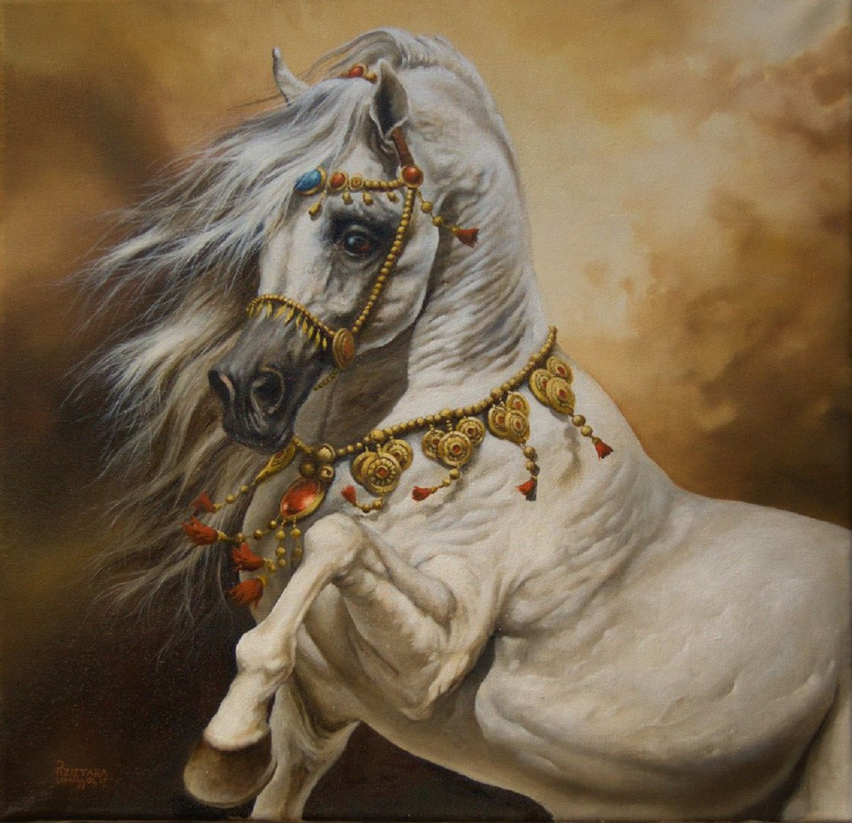 Selling off this years&#39;  #originalpaintings #oiloncanvas. Making room for new work.  #art #artist #horese  #christmasgifts #christmas #etsy #originalart #beauty #happy #bargain #equineart #now €700  https://www. etsy.com/no-en/listing/ 548865304/original-oil-painting-sleipnir?ref=shop_home_active_8 &nbsp; … <br>http://pic.twitter.com/LKfCdVIyiM