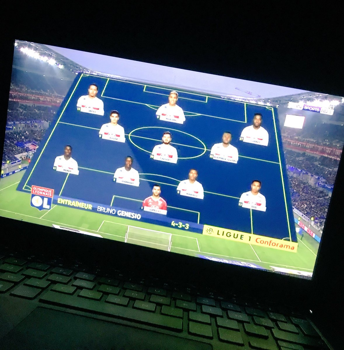 Ready for the game #TeamOL  <br>http://pic.twitter.com/azQN33IK0u