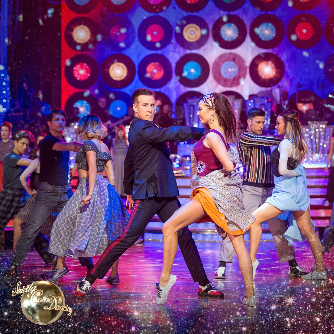 Back in Blackpool and bringing the Northern Soul 🎙 7.15pm @BBCOne #Strictly https://t.co/Uf5xtihWFY