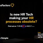 Is new #HRTech making your HR processes obsolete? Find out on the new Firing Line with @BillKutik: https://t.co/4atPZCpiRy