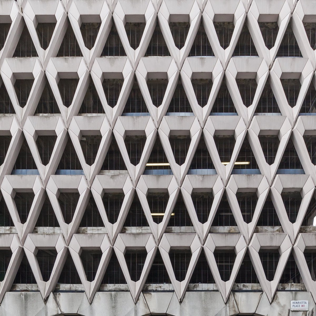 Live long and prosper. Welbeck Street multi-storey car park in #London, United Kingdom. Design by Michael Blampied and Partners for Debenhams, built 1968-1970. Beautiful brutal #architecture - Threatened to be demolished.