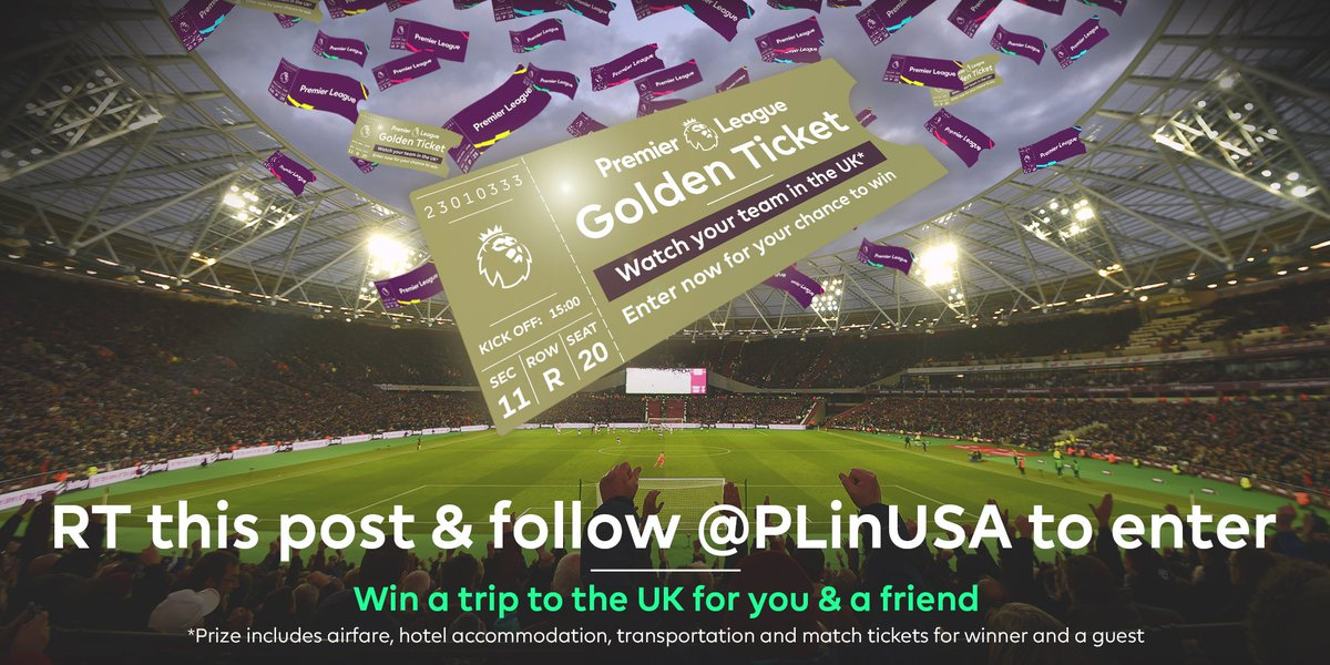 The best thing I did today is...   Sleep in before match  Open Twitter  RT &amp; follow to win a trip to see #PL  #PLGoldenTicketSweepstakes<br>http://pic.twitter.com/OoOdhLw6M9