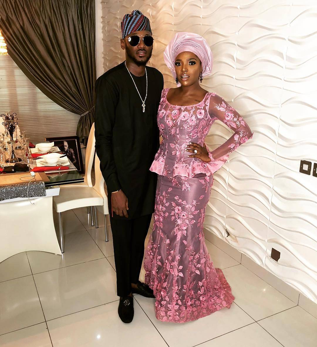 #BAAD2017 Photos from Banky W and Adesua Etomi's traditional wedding