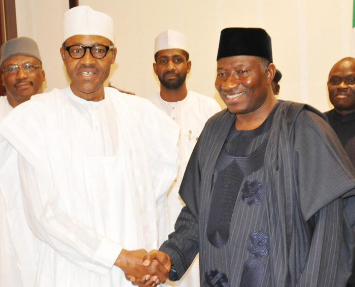 President Muhammadu Buhari has warmly felicitated with former President Goodluck Ebele Jonathan on his 60th birthday, today, November 20th, 2017.