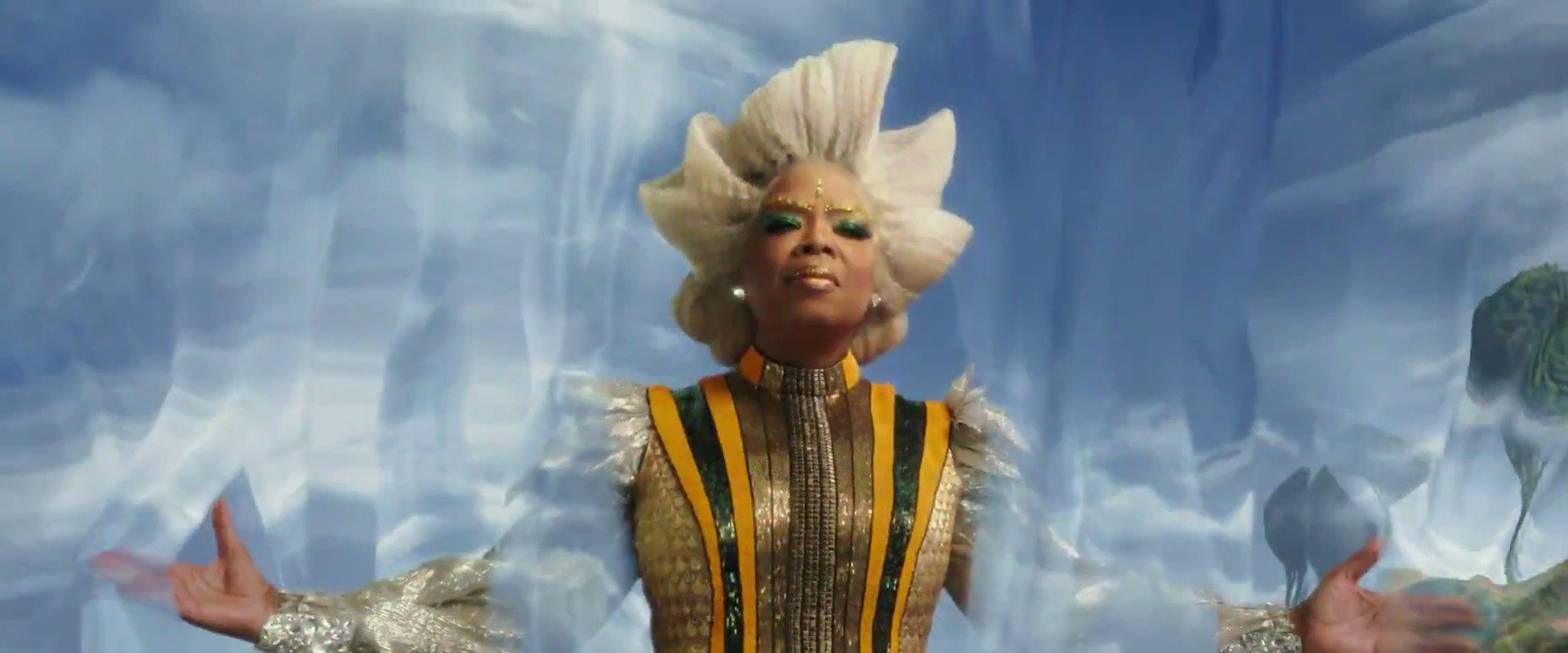 Here it is! The brand-new #WrinkleInTime trailer. See you in theaters, March 9th. With love, Mrs. Which 💜 https://t.co/RHia4jFXx3