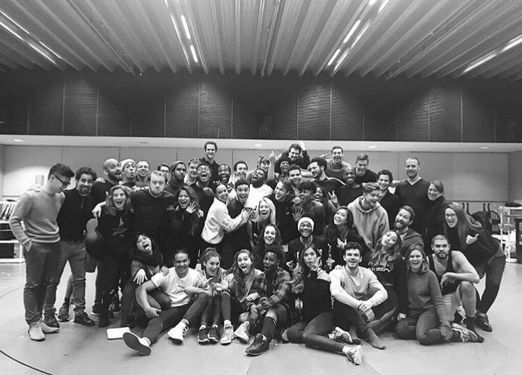 #Regram @GoRachelleAnn: &quot;Today was our last run after 7 weeks in the studio! We are ready for the Victoria Palace Theatre @HamiltonWestEnd&quot;<br>http://pic.twitter.com/l9IEU8AWD5
