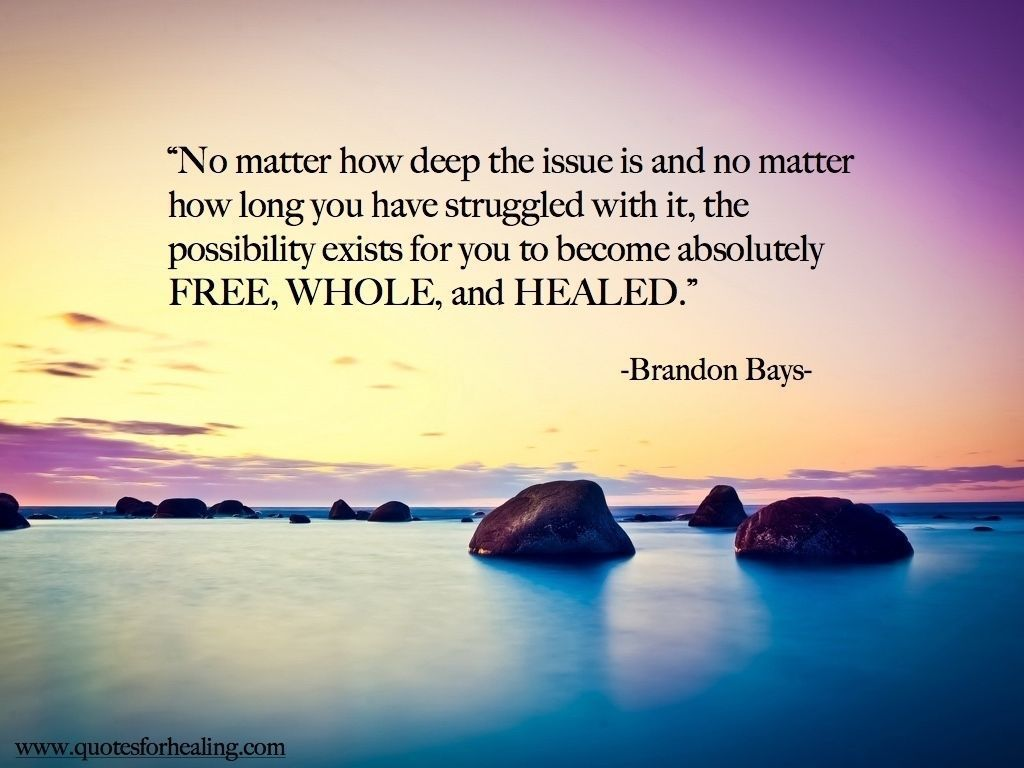 No matter how deep the issue... #Healing #Wellness<br>http://pic.twitter.com/cDv8f25RUB