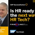 Is HR ready for the next wave of #HRTech? @BrianSSommer and @BillKutik answer on the new episode of Firing Line. https://t.co/019ciydeTW