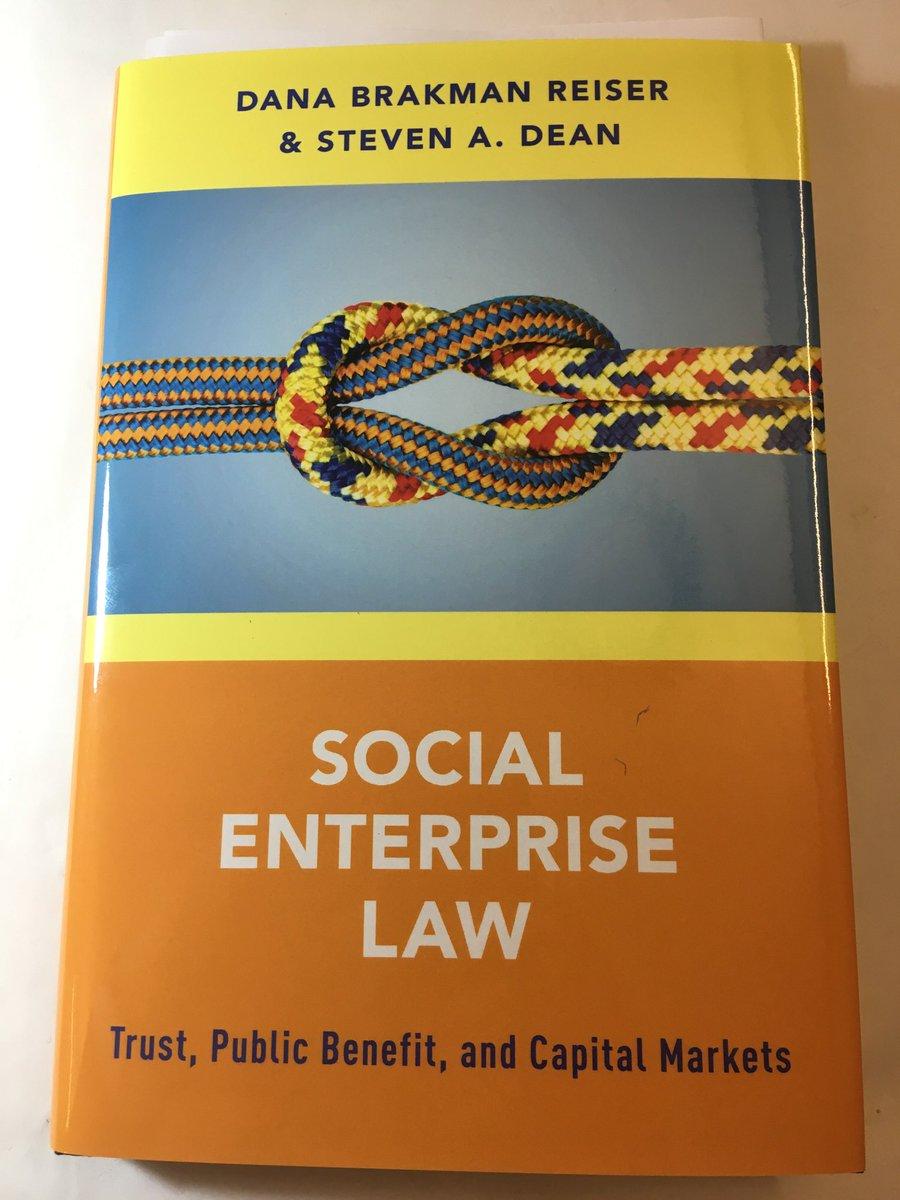 Trust Public Benefit and Capital Markets Social Enterprise Law
