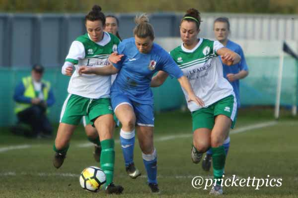 Action from Chichester City v Cardiff City, Nov 19 2017 (Photo: James Prickett)